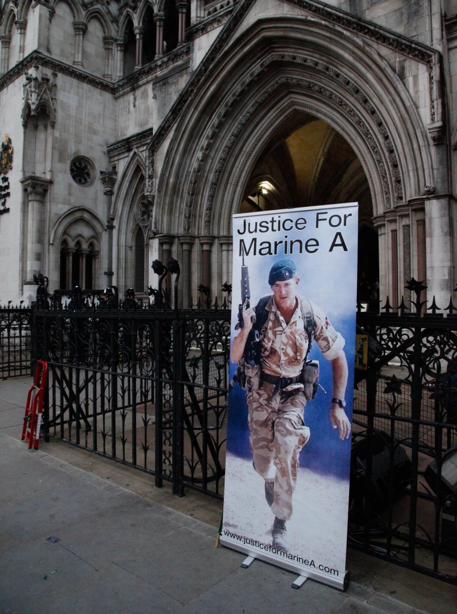 Let's get #JusticeForMarineA trending please show your support @justiceforBigAl https://t.co/o0Yu9BRsNW