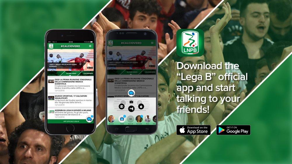 L'app ufficiale Lega B diventa più social con TOK.tv