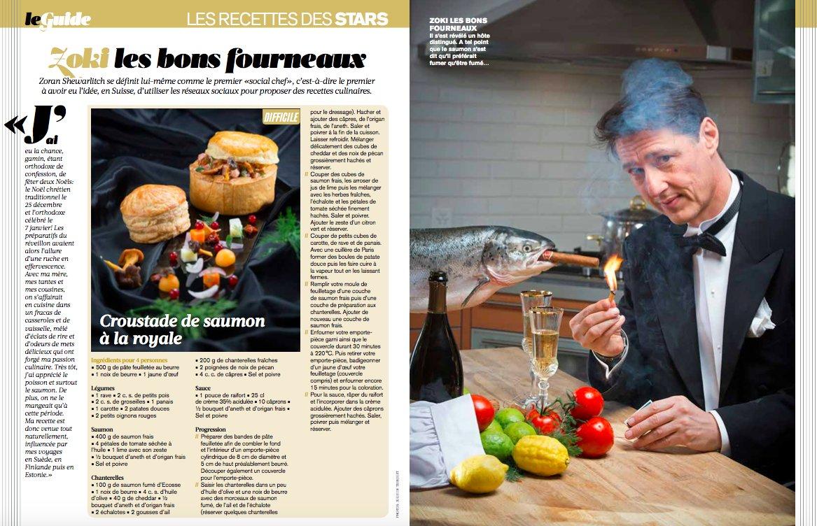 @Zoki_CH vous propose une #idée de recette pour votre #Noel ! Edité dans votre #magazine préféré Dans @Lillustre l<br>http://pic.twitter.com/blzh1AdcNh