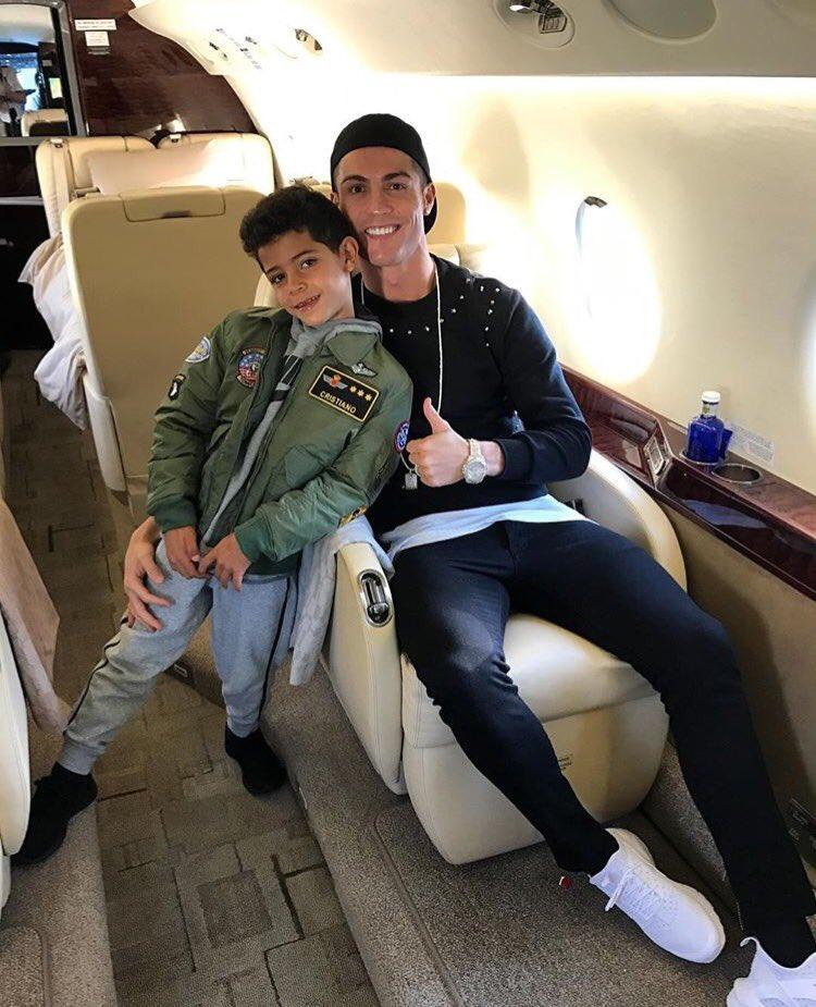 Cristiano Ronaldo anunció en su Twitter con quién pasará la Navidad
