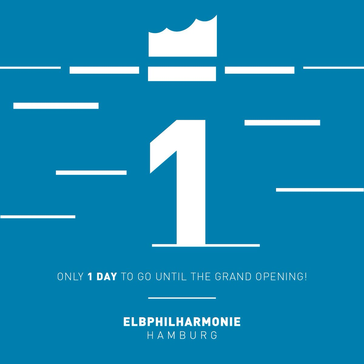 1! Tomorrow is the Grand Opening! The anticipation is palpable. 😁   #e...