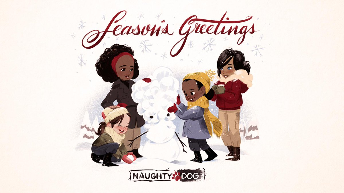 Naughty Dog On Twitter From Our Family To Yours Wishing Everyone