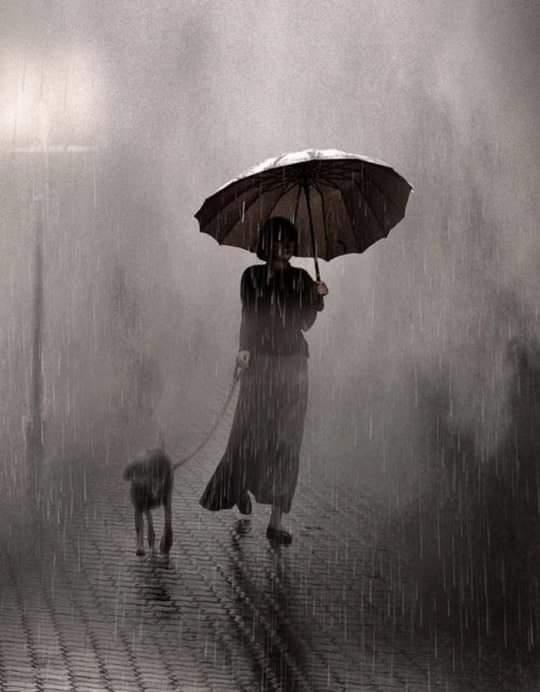 Saul Leiter, Raining On Two, 1957....... https://t.co/LF8gP9CRJb via @svaydd