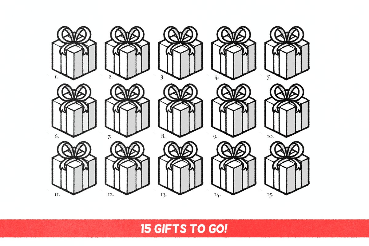 Giving away 15 gifts, at random moments until the 25th! Follow and RT to maybe win a small game! https://t.co/UGq1nH3B85