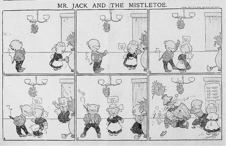 Mr Jack is up to his usual antics! See more of Jimmy Swinnerton's cartoon creation in #ChronAm newspaper archives https://t.co/VXp3xETzUl https://t.co/blqX7lDnOH
