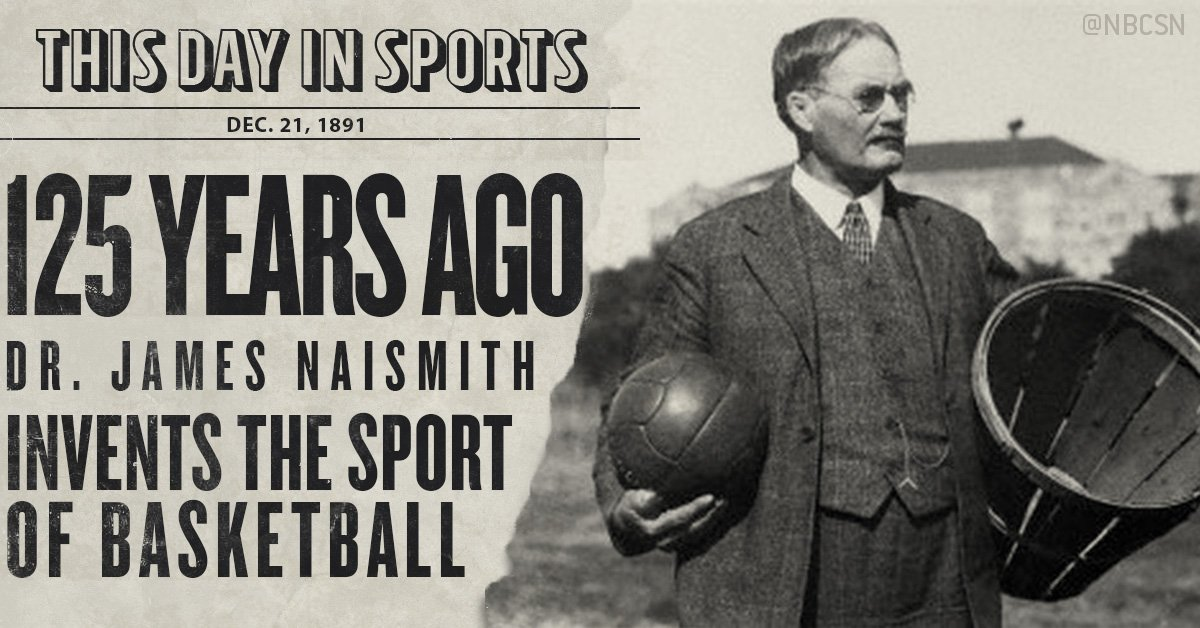 125 years ago, dr. james naismith posted his original 13 ...