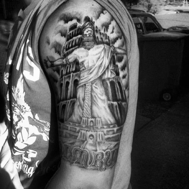 Iraqesque On Twitter Tattoos Inspired By Ancient Mesopotamia