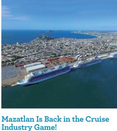 Sigue #Mazatlán posicionándose como gran atractivo para el turismo de cruceros! Vía Travel & Cruise. #Sinaloa https://t.co/SJwSp2r49C https://t.co/wJa7l8PUDE