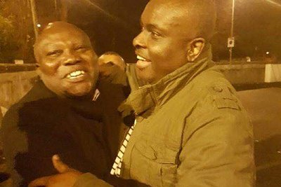 Watch photos of Chief James Ibori's release on Wednesday, December 2, 2016 from United Kingdom prisons after over five years in jail.