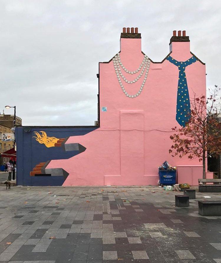 Street Art in London by ArtMongers  #art #mural #graffiti #streetart