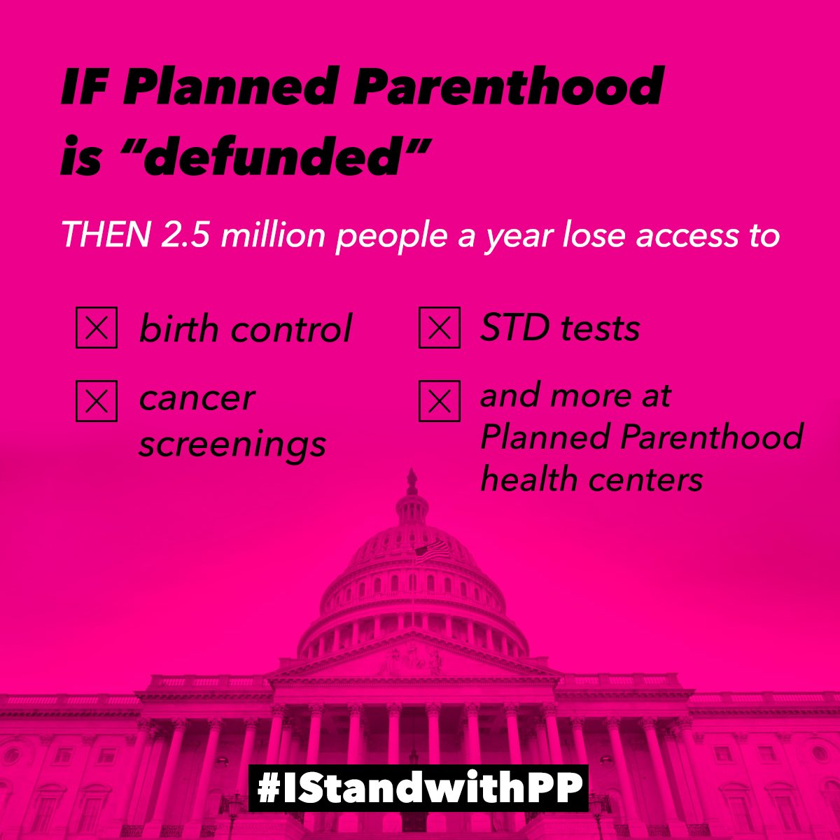 "planned parenthood action on twitter: ""planned parenthood ""defunding"