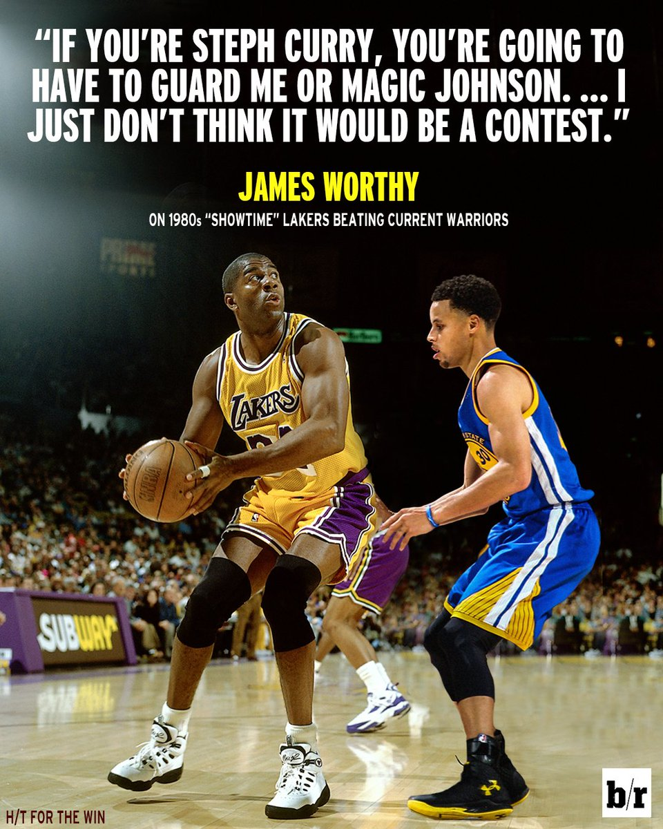The showtime lakers vs. warriors debate continues ...