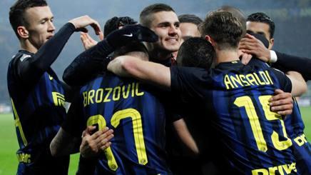 INTER-LAZIO Risultato esatto 3-0: in gol Banega e Icardi (2), Video e Tabellino