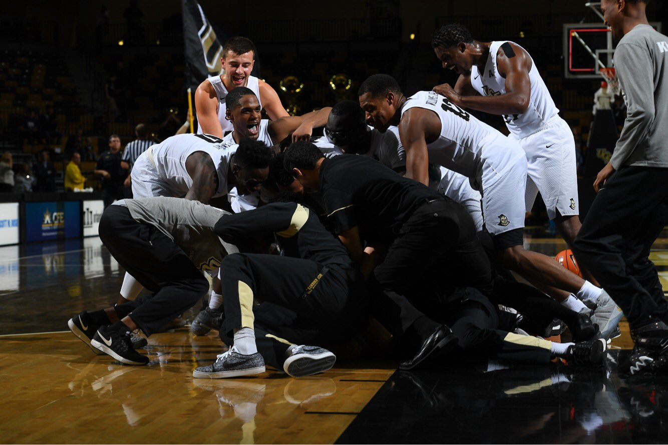 """UCF Men's Basketball on Twitter: """"1. """"You might be going ..."""