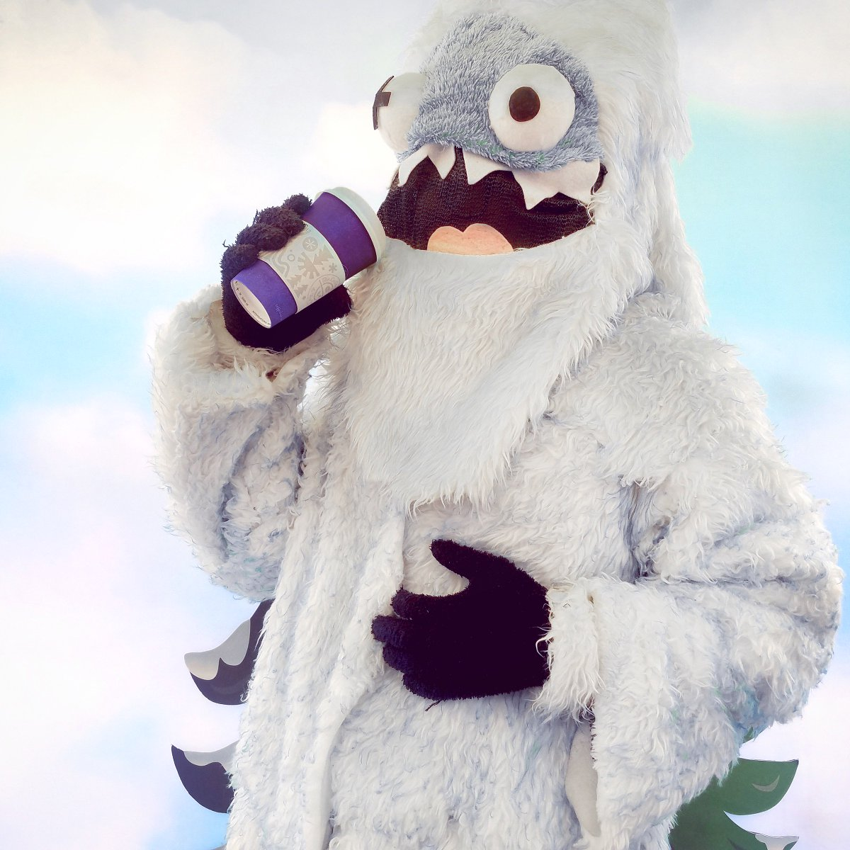 The Coffee Bean On Twitter Even The Abominable Snowman Is Excited