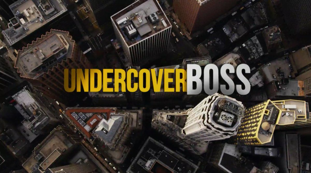 #UndercoverBoss is back! RT if you're watching! https://t.co/dg99JE6aXK