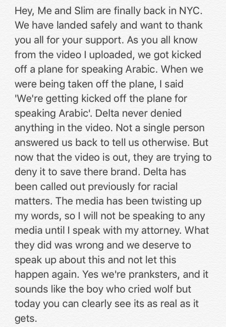 star allegedly kicked off delta flight for speaking adam h omgadam h