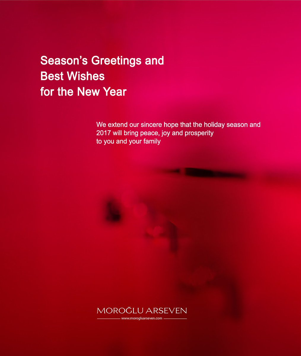 Moroglu Arseven On Twitter Seasons Greetings And Best Wishes For