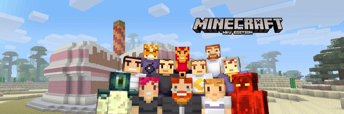 J Studios On Twitter Happy St Birthday Minecraft Wii U Edition - Skins para minecraft wii u