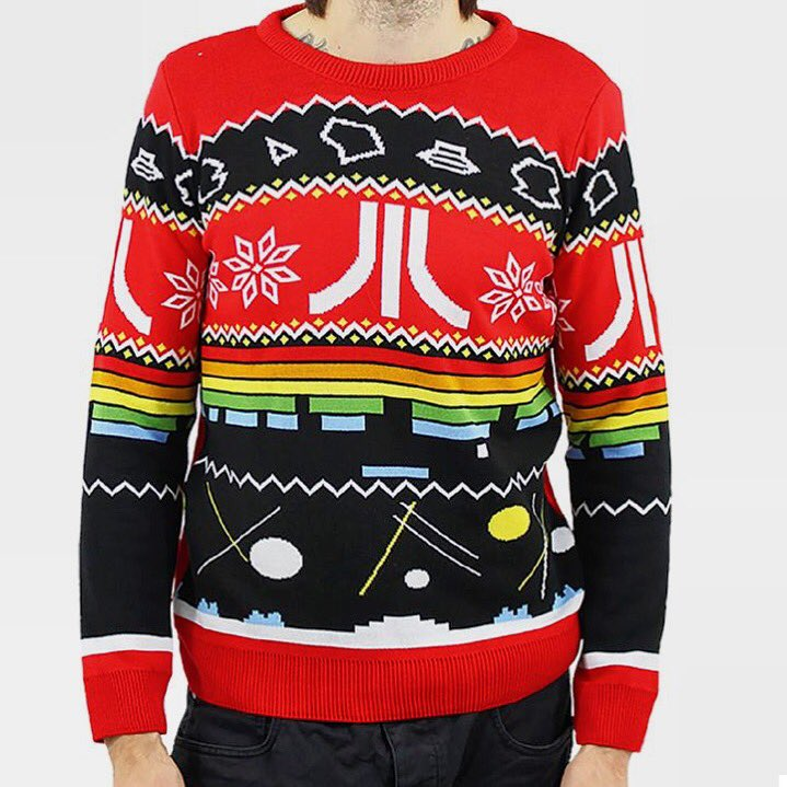 Now that's what you call a classic #Christmas #jumper!