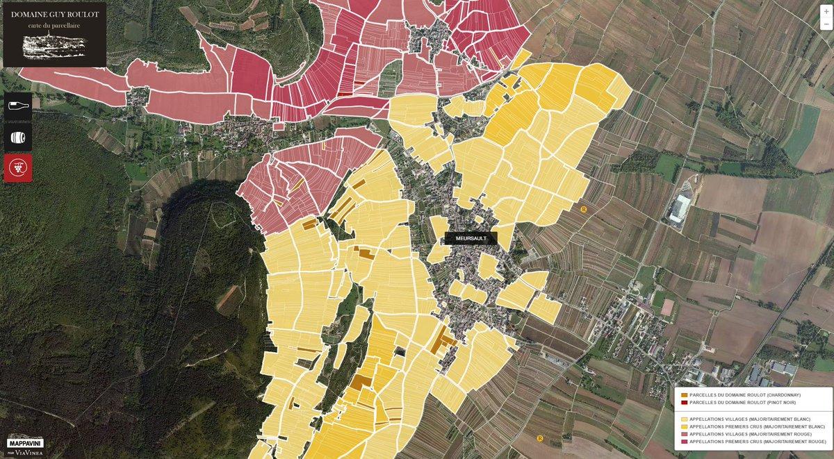 Carte Bourgogne Blanc.Bourgogne Wines On Twitter The Domaine Roulot Plot By Plot