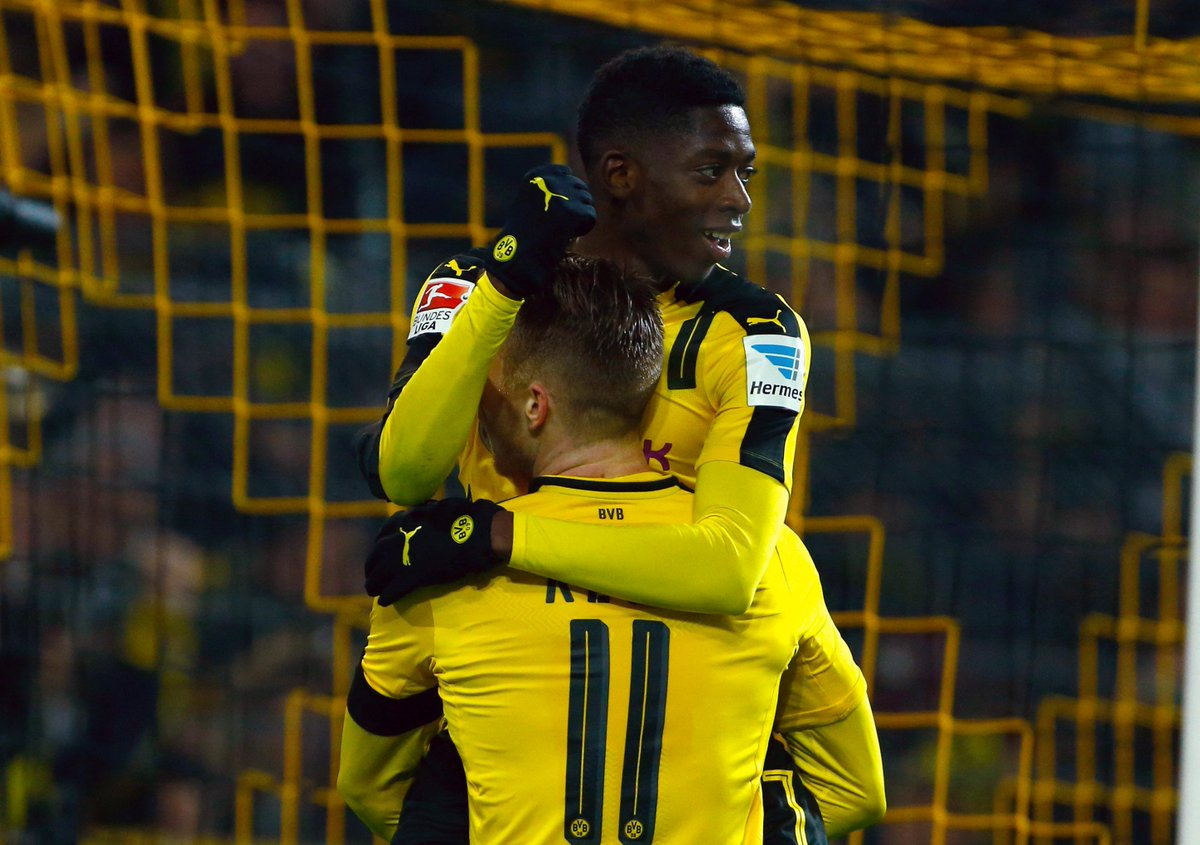 No U21 player has been directly involved in more goals in Europe's top 5 leagues this season than Borussia Dortmund's Ousmane Dembélé (11).