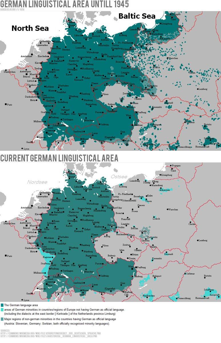 British irish lang maps on twitter 1945 2016 central europe british irish lang maps on twitter 1945 2016 central europe maps german language deutsch sprache gumiabroncs Images