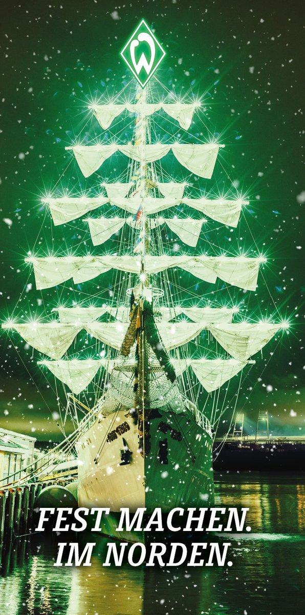Frohe Weihnachten Werder Bremen.Sv Werder Bremen On Twitter Die Kommenden Tage Heisst Es