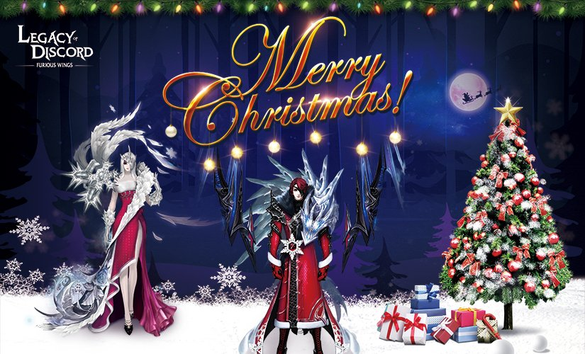 Christmas Discord.Legacy Of Discord On Twitter Merry Christmas Happy