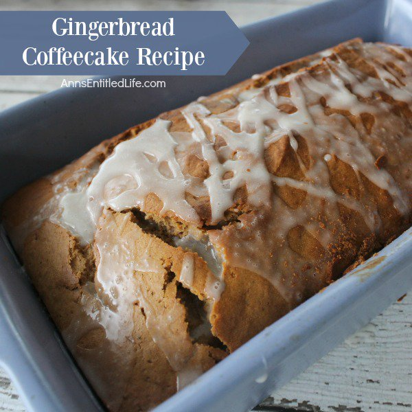 Gingerbread Coffeecake Recipe