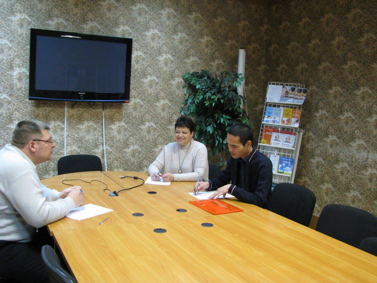 Деловая встреча с китайскими партнерами