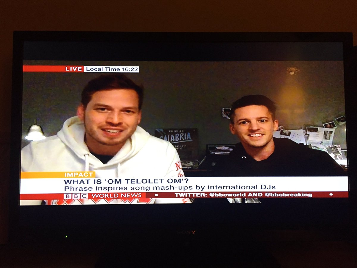 Om Telolet Om live on BBC World News