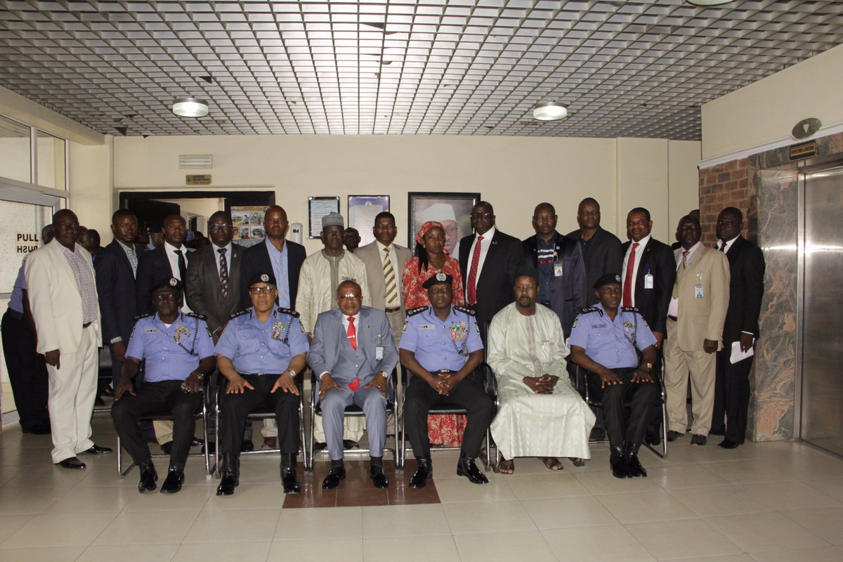IGP Ibrahim Idris and his Management Team inaugurates Panel on Rivers Re-run Election at the Nigeria Police Force Headquarters Abuja today 22nd December
