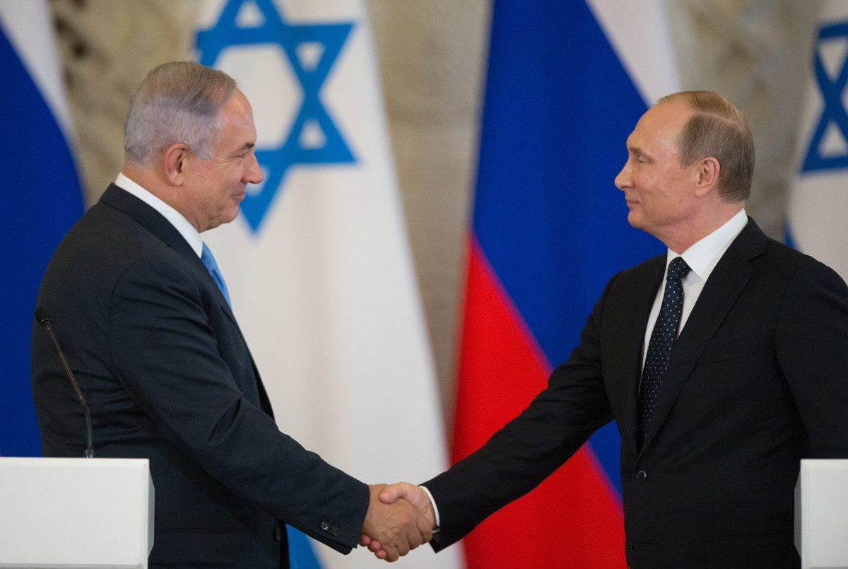 Встреча Путина и нетаньяху фото