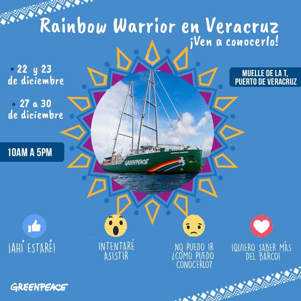 Rainbow Warrior I Ii Y Iii Greenpeace: Greenpeace México (@greenpeacemx)