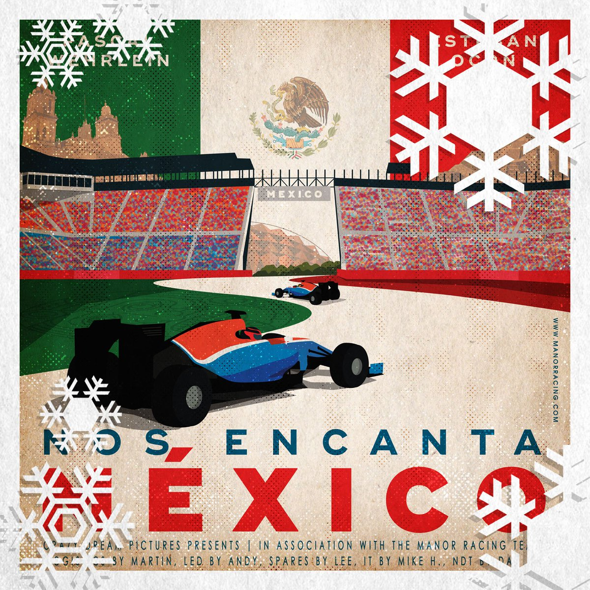 Only 3 more Race Poster Rerun days to go. Here's #MexicoGP, scene of Pascal's 4th Q2 appearance (of 5). https://t.co/t2Q5Stb5ue