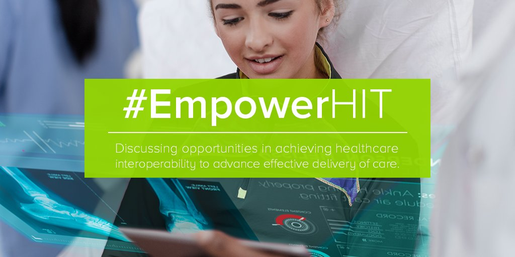 Thumbnail for #HIMSS17: Following #EmpowerHIT