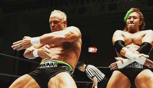 Image result for billy gunn njpw