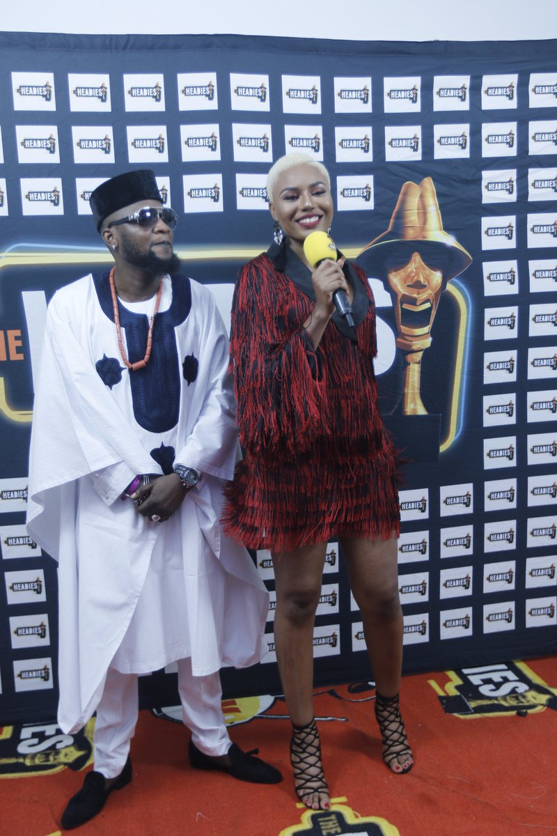 Jazzman Olofin At #TheHeadies2016
