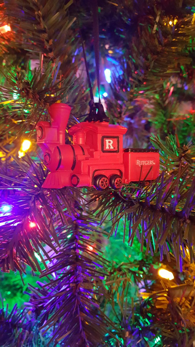 Rutgers ornament - 1 Reply 6 Retweets 29 Likes