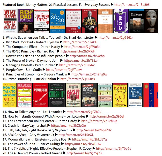 Here&#39;s my top 100 life changing favourite #books. #goodreads #BestBooks  ►  http:// positivelybrainwashed.com/books/  &nbsp;  <br>http://pic.twitter.com/PCM4iu0a3V