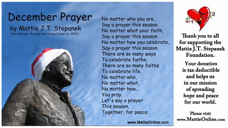 Mattie Stepanek Poems 7
