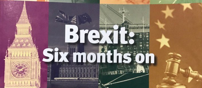 'Brexit - six months on'. Major new @UKandEU report looks at what's changed since 23 June: https://t.co/g7gt0JIhCL https://t.co/BmhcNLnfA5