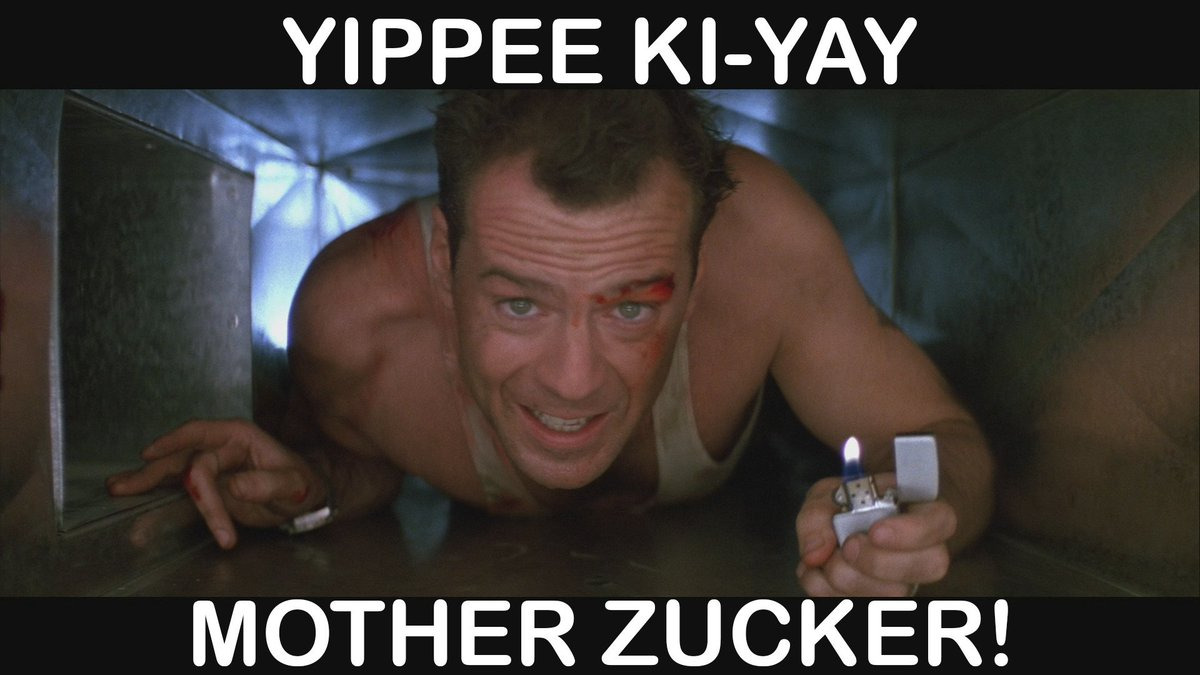 Image result for yippee ki yay mother zucker