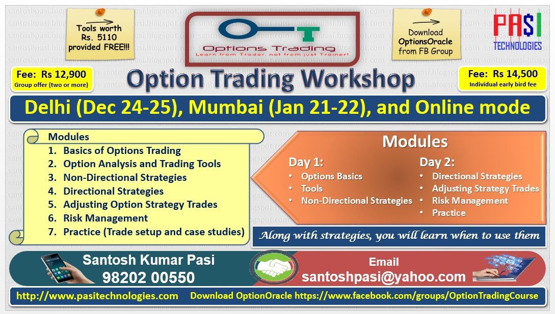 Options trading course india