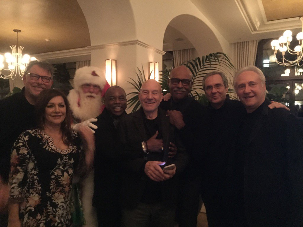 Hope At Christmas Cast.Rick Berman On Twitter What S Christmas Without Dinner