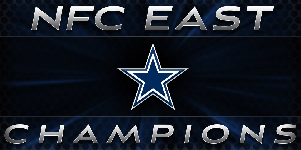 NFC EAST CHAMPS! #DallasCowboys