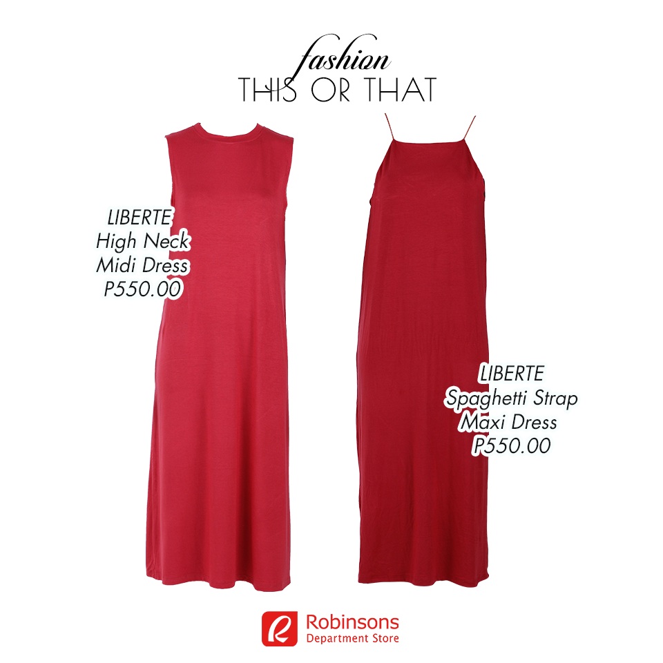Dept Maxi Jurk.Robinsons Dept Store On Twitter Look Regal In This Red Maxi Dress
