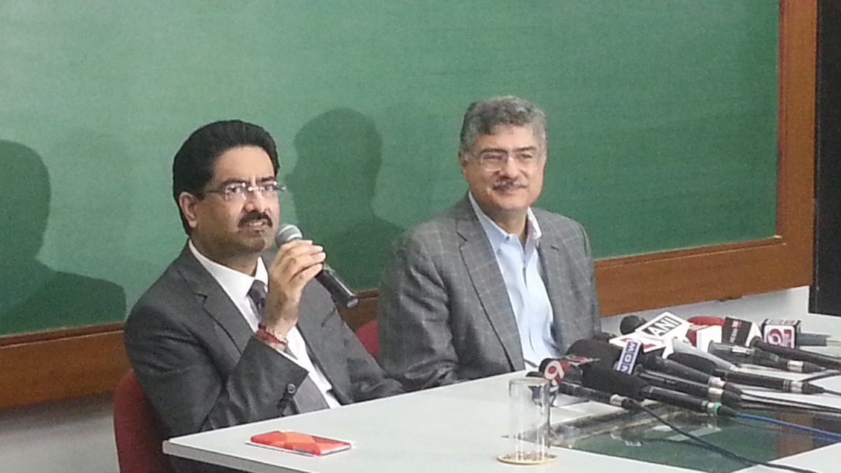 Kumar mangalam Birla refuses to react to Rahul's allegation, demonetization