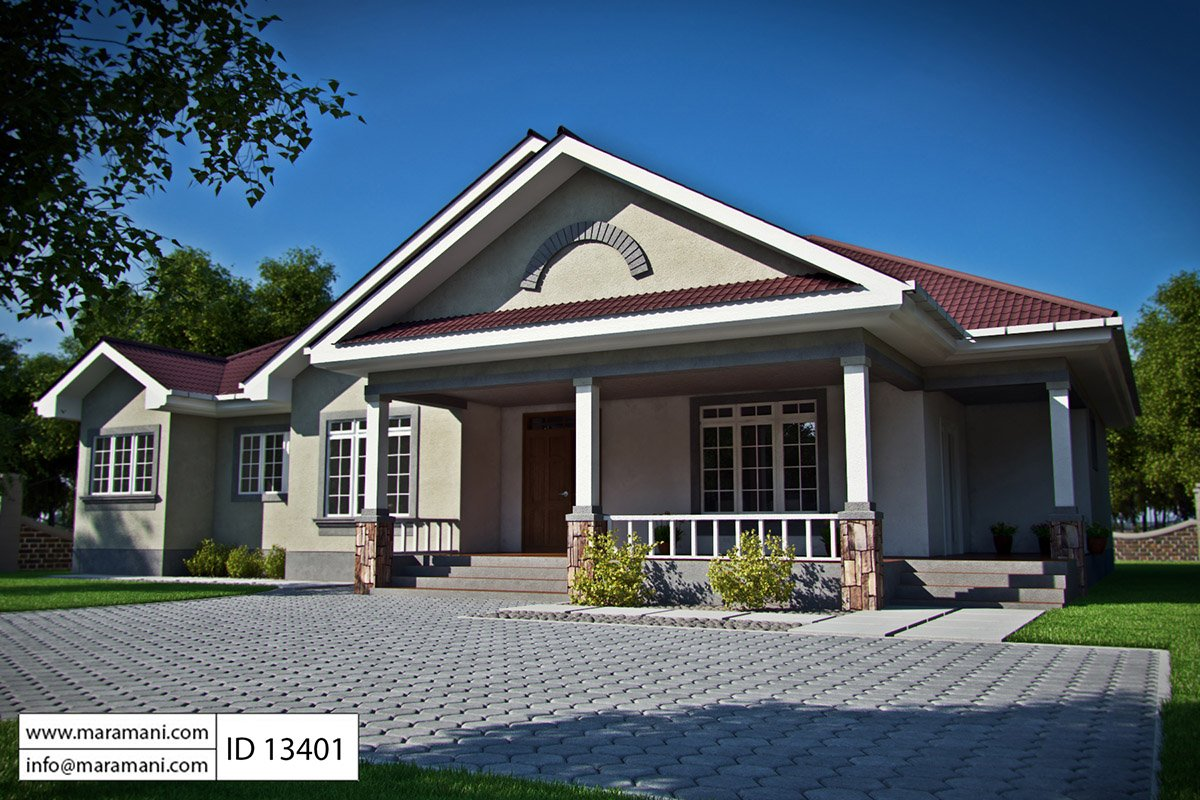Maramani house plans maramaniplans twitter - House of three bedrooms plan ...
